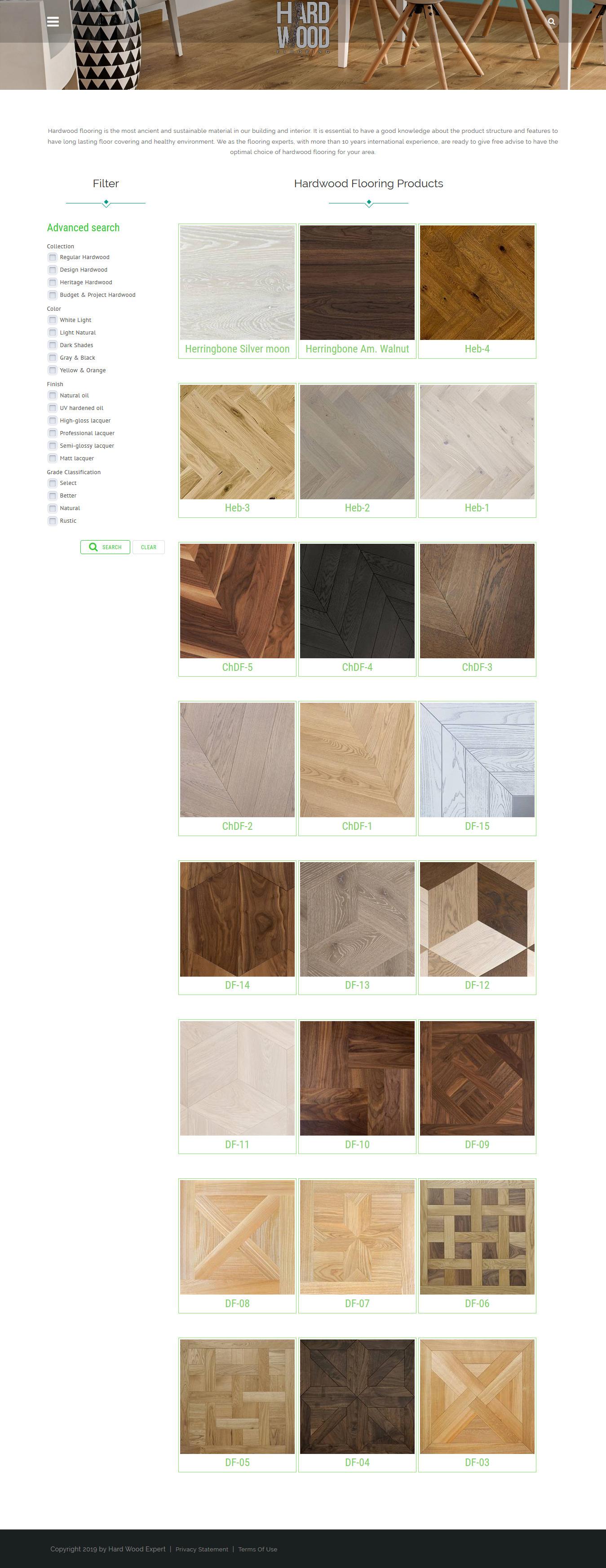 hardwoodex-Products